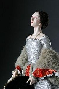 "Anna Bolena depicted in a sculpture. From '500 to date, si contano numerose ""apparizioni"" the ghost of Anne Boleyn"