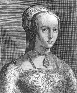 Ritratto di Lady Jane Grey, decapitata a soli 16 anni