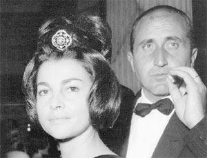 Spouses Anna and Camillo Casati Stampa