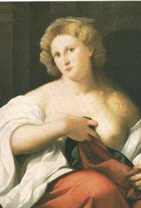 Ritratto di cortigiana nella Roma del '500