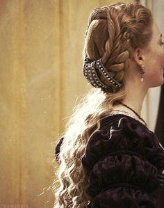 A partir de um drama de TV: o famoso cabelo de Lucrezia Borgia