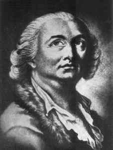 Portrait of Cagliostro