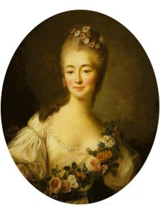 Retrato de Madame Du Barry