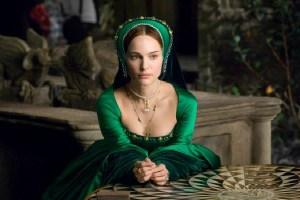 """Natalie Portman nel ruolo di Anna Bolena nel film """"L'altra donna del re"""""""