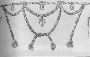 Copiar el collar de diamante precioso que fue objeto de escándalo
