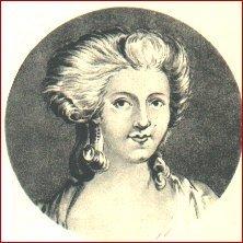 Retrato de Jeanne de la Motte Valois