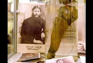 Los genitales de Rasputin se conservan en una urna de cristal en el Museo erótico en San Petersburgo
