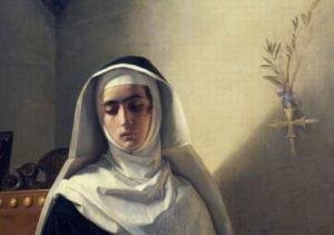Ritratto di fantasia della monaca di Monza, la Gertrude manzoniana