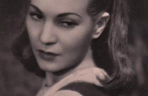 Um close up de Luisa Ferida