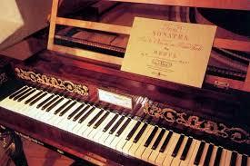 An antique piano