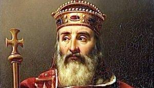 Porträt von Karl der Großen