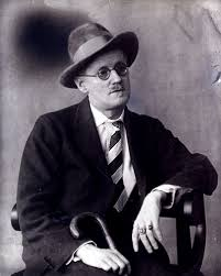 The Irish writer James Joyce
