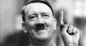 Un primo piano del Fuhrer