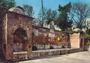 Fontana Tancredi (Brindisi) antes da restauração