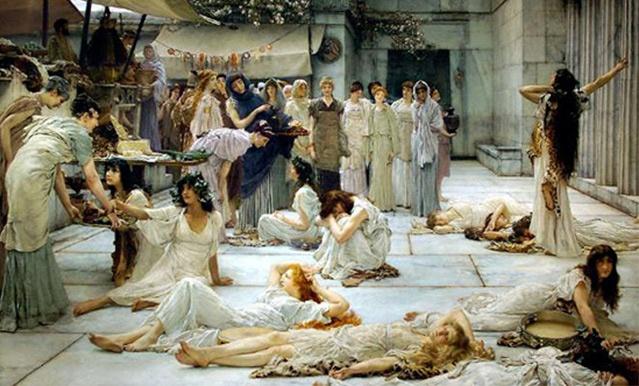 prostituta dell'Antica Roma