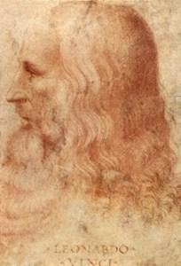 Perfil de Leonardo da Vinci. Entre sus muchas pasiones había también la cocina