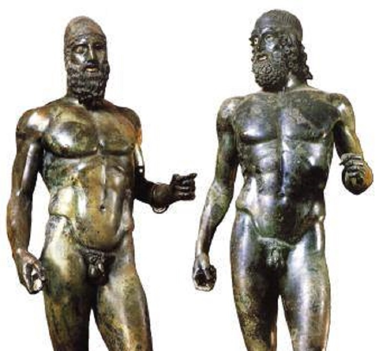 small penis Greek statues