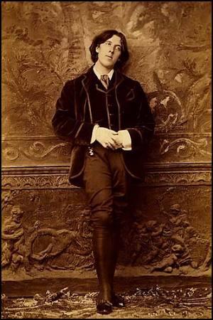 olhar Oscar Wilde