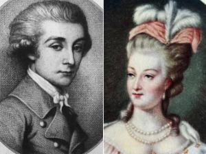 María Antonieta y Fersen