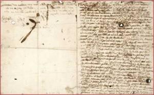 última carta de María Antonieta