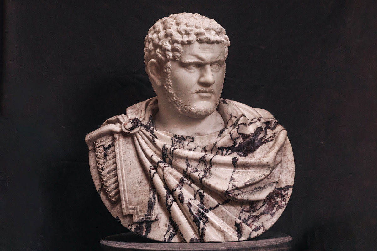 origin of the nickname Caracalla