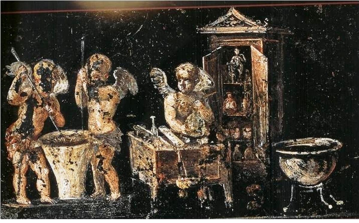profumi nell'antica roma