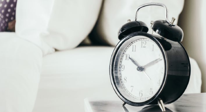 a regular sleeping time