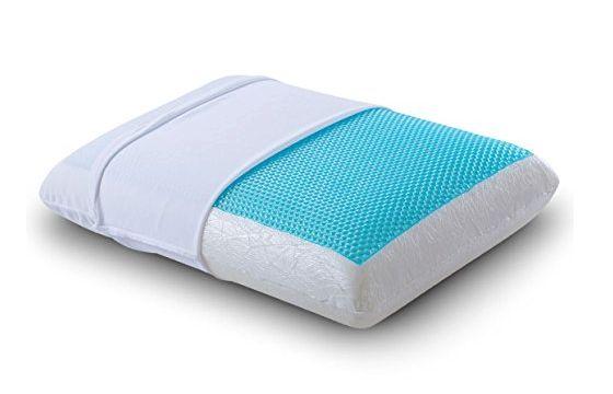 comfort revolution hydraluxe gel pillow