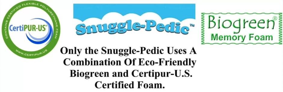 Snuggle-Pedic pillow brand