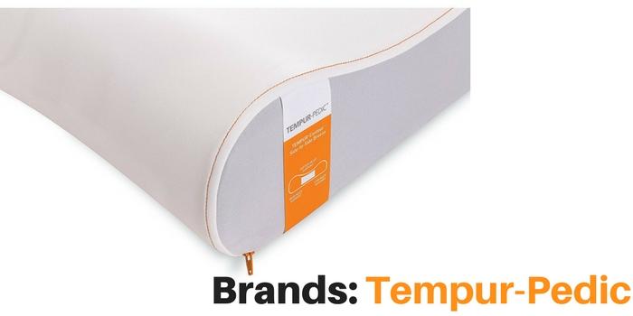 Tempur-Pedic pillow brand