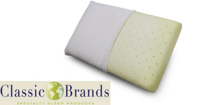 classic brands pillow brand