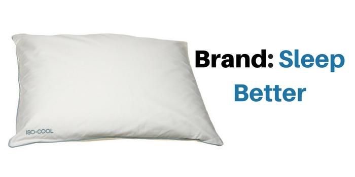 sleep better pillow brand