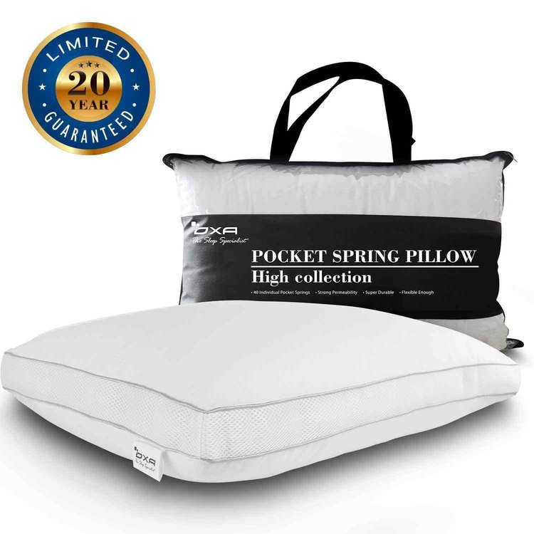 Oxa-Spring Neck and Back Pain Relieving Pillow