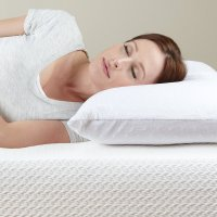 Classic Brands Caress Plush Latex Pillow Sleeping