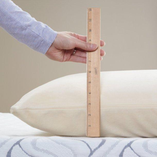 Classic Brands Caress Plush Latex Pillow Sleeping Position