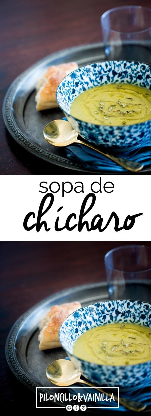 sopa de chícharo