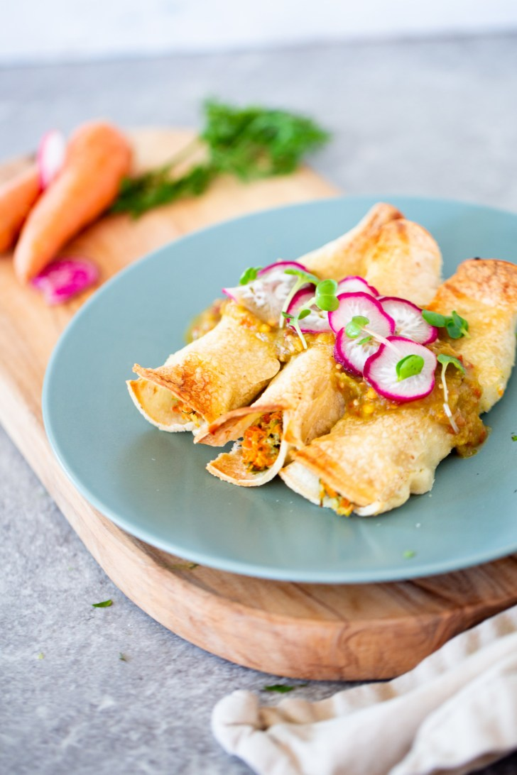 tacos de zahanoria