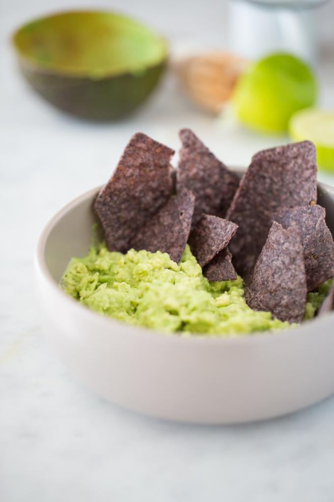 Healthiest guacamole recipe.