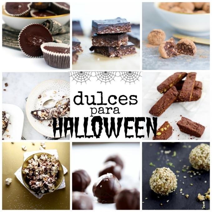 Dulces mas sanos para Halloween - Piloncillo&Vainilla