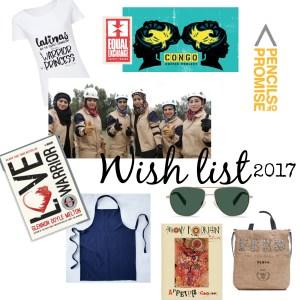Lista de regalos para Navidad 2017?:Instituciones globales para ayudar a los demás.