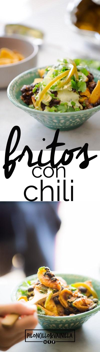 fritos con chili