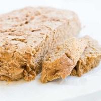 Pan hecho en casa: tres ingredientes. El mejor del mundo.
