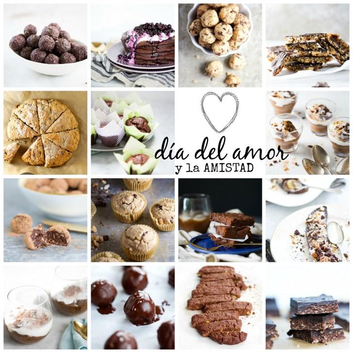 Catorce recetas veganas con chocolate para l día de amor y la amistad.