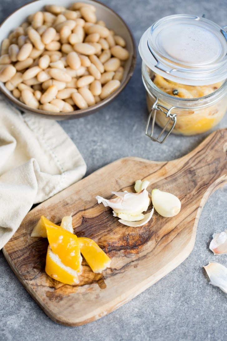 Ingredientes para hacer aderezo de limón