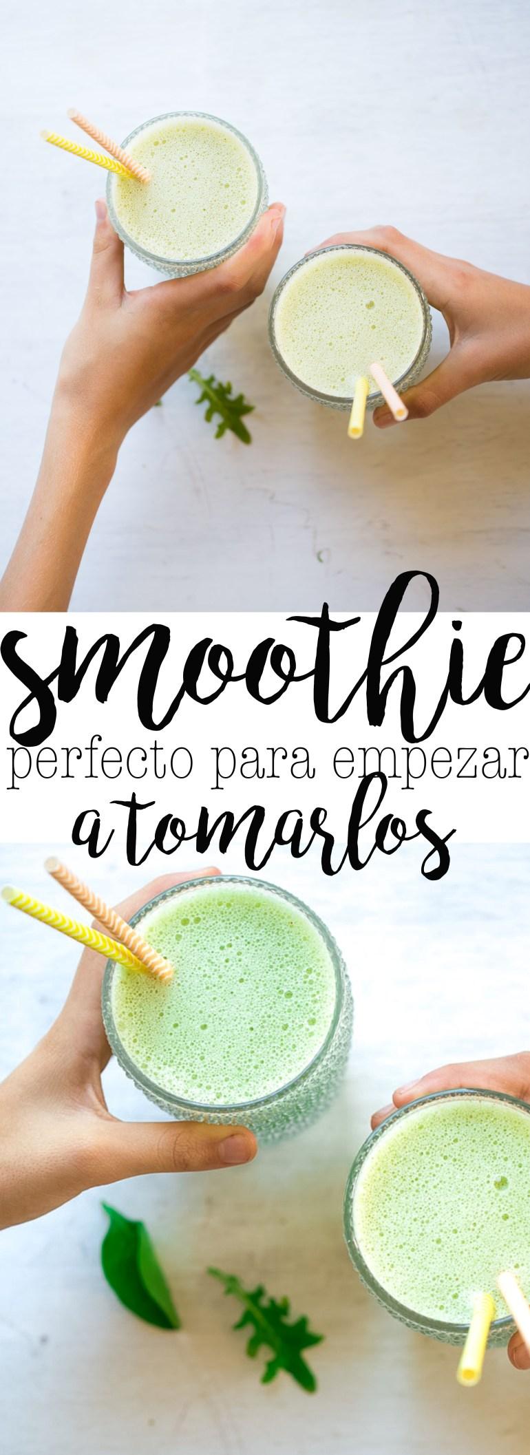 Esta receta es perfecta para empezar a tomar smoothies. Perfecta para introducirlos a la dieta de los niños.