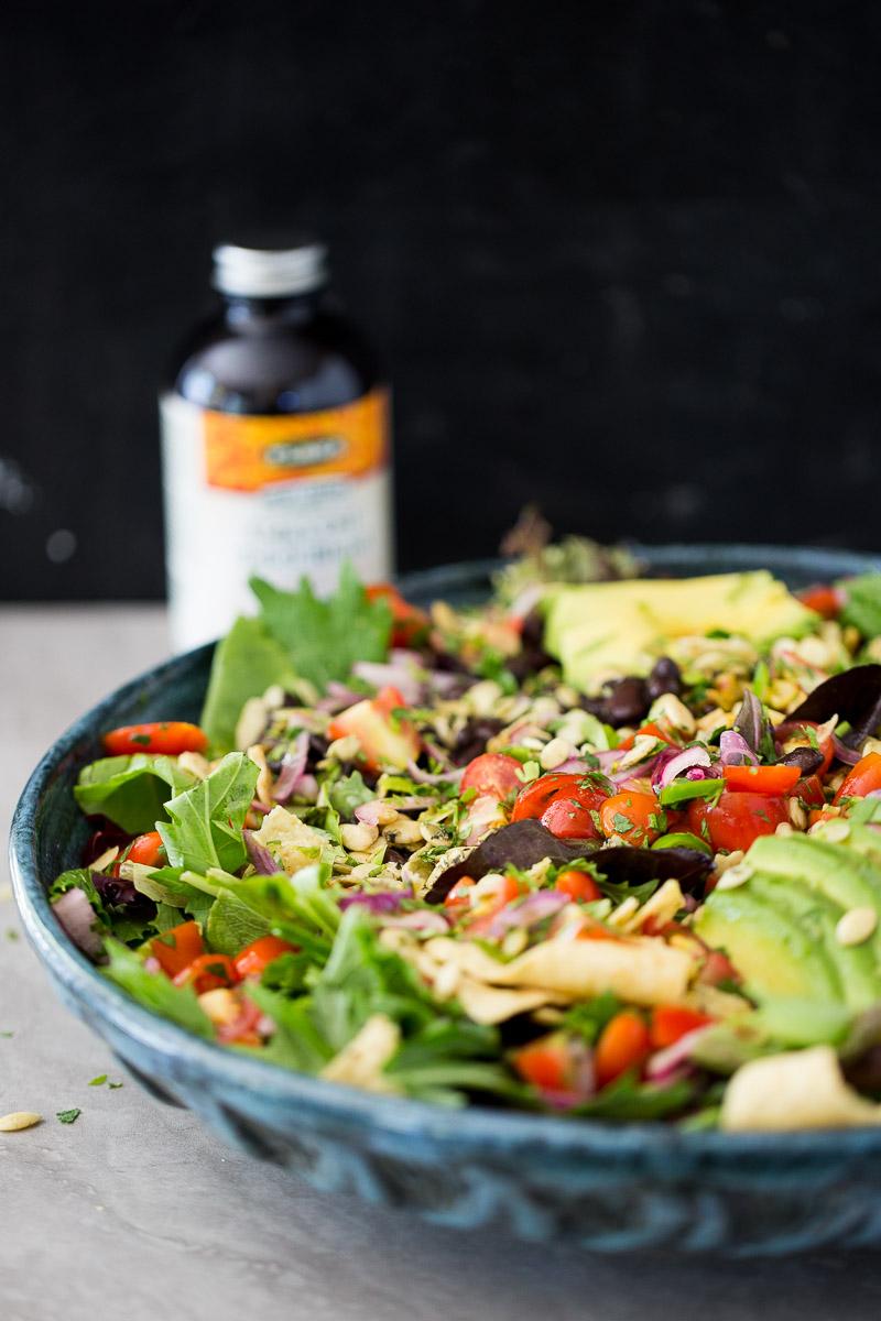 taco salad vegana