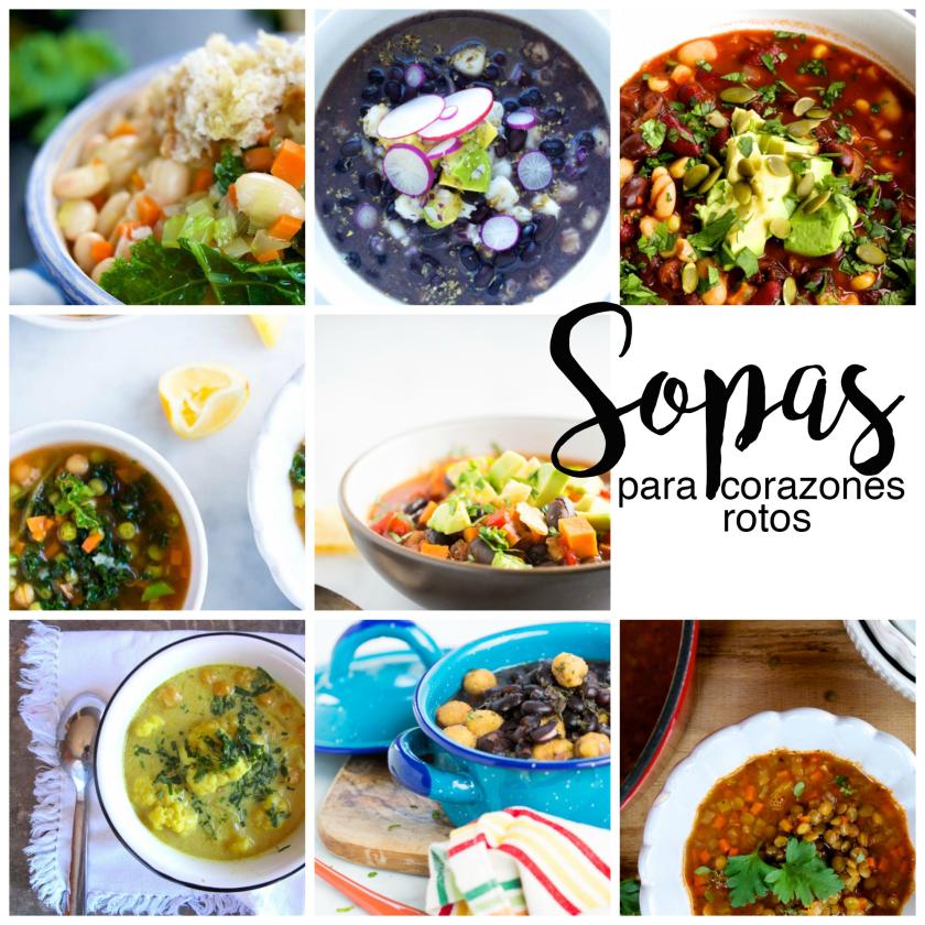 Recetas de sopas para mucha gente