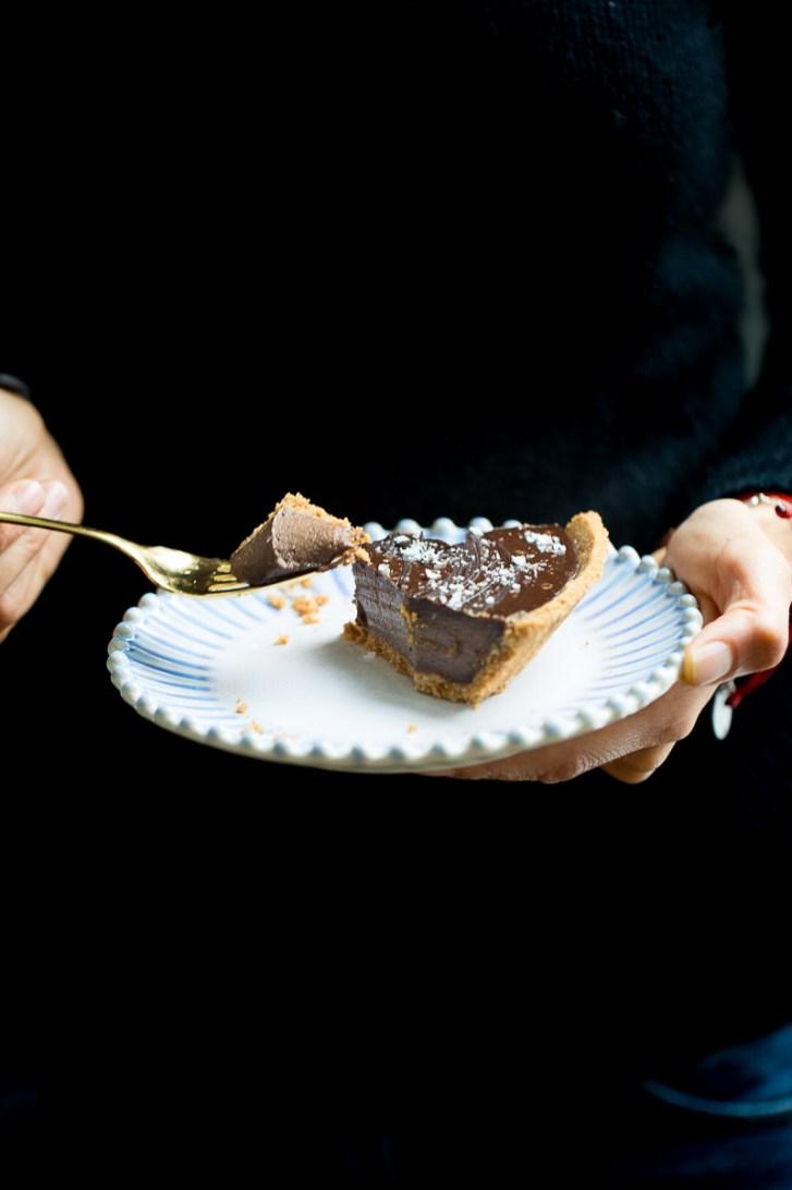 pay cremoso de chocolate