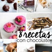 8 recetas con chocolate