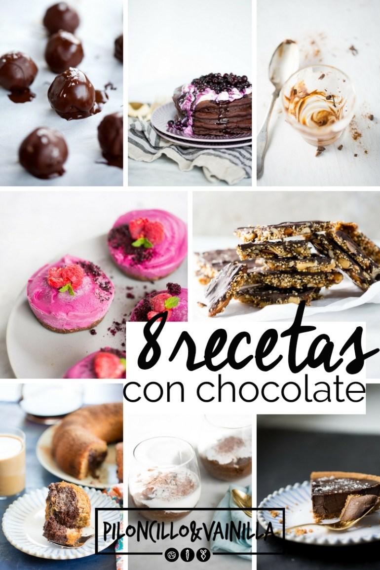 recetas veganas scon chocolate